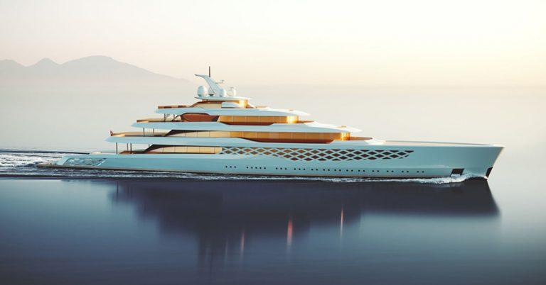 Feadship Project FG Megayacht concept