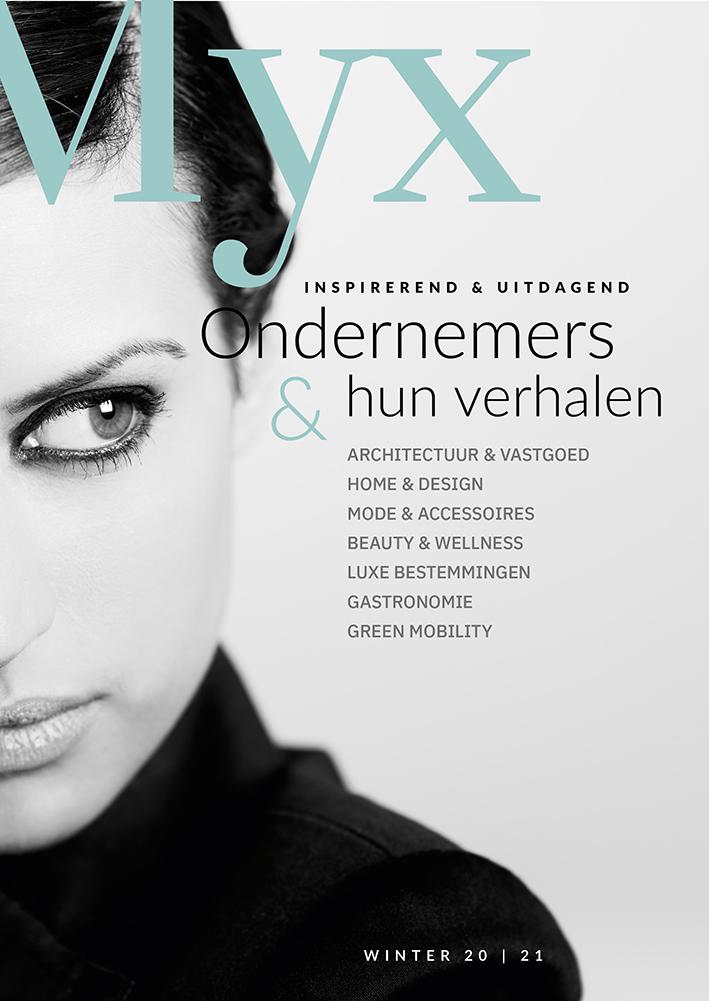 Cover december 2020 - Myx Magazine